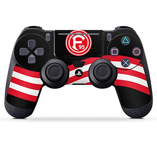 Skin kompatibel mit Sony Playstation 4 PS4 Pro Controller Folie Sticker F95 Bundesliga Fortuna Düsseldorf