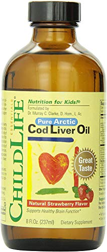 Child Life Cod Liver Oil, Glass Bottle, 8-Ounce by Childlife