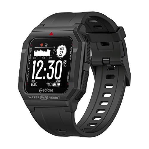 Reloj inteligente, rastreador de ejercicios con detector de frecuencia cardíaca y presión arterial, reloj digital deportivo inteligente de 1.3 pulgadas, compatible con los sistemas Android e IOS