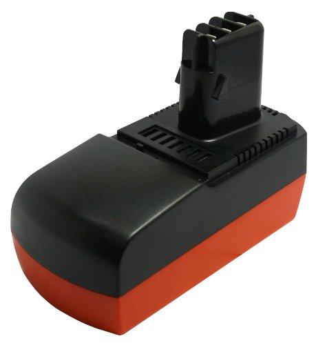 PowerSmart® 1500mAh 18V NiMH Akku für Metabo BSZ 18, BSZ 18 Impuls, KSA P18, ULA 9.6-18, 6.25477, 6.25478