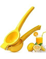 """Citroen Squeezer, Whekeosh Manual Fruit Juicer voor Citroenen Limes Citrus Sinaasappels, Handheld Fruit Juicer - Extracteren Citroensap en meer Fruit (3"""" diameter)"""