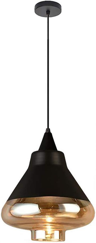 MYY Retro Pendelleuchte mit Bernstein Glas Einstellbare Hngende Draht Küche Lampe für Hotel Flur Geschfte Cafe Bar Unterputz Deckenleuchte