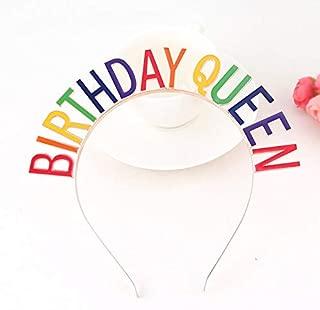 Birthday Queen Headband for Brithday Party