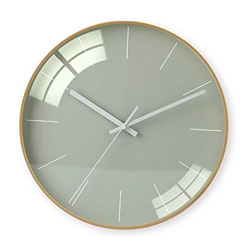 CEyyPD Minimalista Moderno Inicio Reloj De Pared Mesa De La Sala Personalidad Creativa Moda Reloj Atmósfera Reloj Colgante Reloj De Punzonado Gratis
