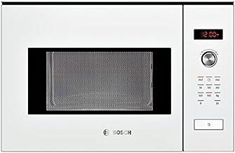 Bosch HMT84M624B - Microondas (Integrado, 25 L, 900 W, Giratorio, Tocar, Blanco, Botón)