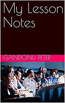 My Lesson Notes (English Edition)    Format Kindle