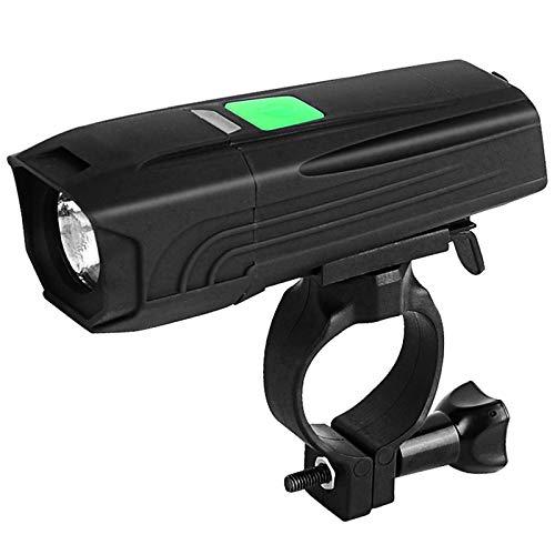 QUYUAN 450 Lumens Powerful LED Bike Light Fron, Waterproof & Rechargeable Bicycle Headlight