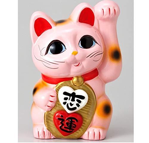 『美園恋愛招きハート猫』