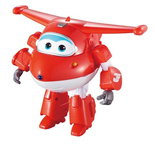 Super Wings Transform 'n Talk Jett vehículo de juguete - vehículos de juguete (Rojo, Color blanco, 4 año(s), 9 año(s), Niño/niña, 14 pieza(s), Interior)