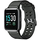 Letsfit Fitness Trackers, Smart Watch with Heart Rate Monitor, 5ATM Waterproof Touch Screen