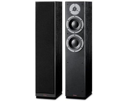 'Dynaudio DM 3/7schwarz Lautsprecher–Lautsprecher (Universal, XLR, Boden, integriert, 17cm (6,7), 2,8cm)