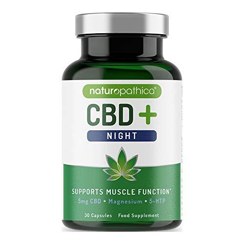 Naturopathica CBD+ Night | Magnesium | 30 capsules, 800006