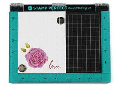 Hampton Art - Strumento per posizionare Perfettamente Il Tuo Timbro, Multicolore, 17,7x 22,9cm