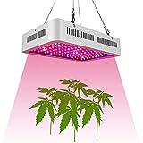 Z·Bling 1000W Lampada Coltivazione Indoor, Lampada per Piante Spettro Completo 100 LEDs, Luci per Piante Bloom Inclusi UV e IR, Ideale per Piante da Interno, Fiori e Verdure, Fioritura