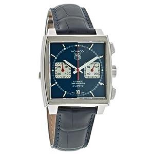 TAG Heuer Men's CAW2111.FC618 Monaco Calibre 12 Automatic Chronograph Watch image