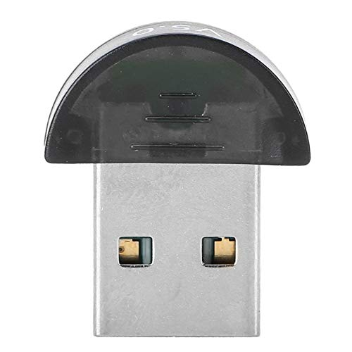 Socobeta Adaptador USB Bluetooth 5.0 Receptor USB Bluetooth Transmisor Adaptador de Llave USB para computadora de Escritorio/computadora portátil/Mouse/impresoras/Auriculares/Altavoces Negro