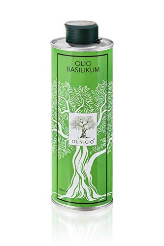 Olivicio Olivenöl Basilikum (500 ML)