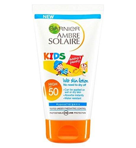 Garnier Ambre Solaire Kids Wet Skin Lotion SPF50 150 ml