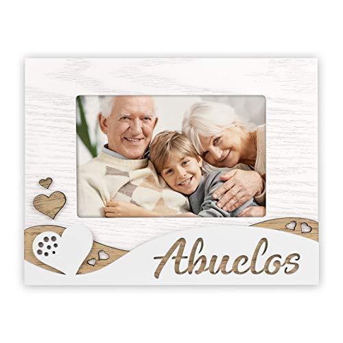 ABUELOS mod. riccardo es. en madera con marquetería de madera y pié...
