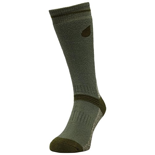 Peter Storm Heavyweight Chaussettes de Plein air - Twin Pack, Vert, M
