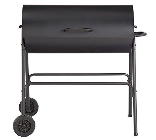 Argos houtskool olie Drum BBQ - Cover, gebruiksvoorwerpen & verstelbare grill