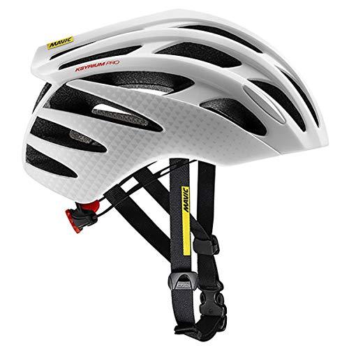 MAVIC Ksyrium Pro MIPS Rennrad Fahrrad Helm weiß 2019: Größe: S (51-56cm)
