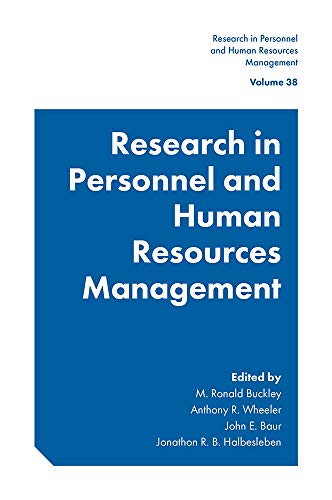 Compare Textbook Prices for Research in Personnel and Human Resources Management  ISBN 9781800430761 by M. Ronald Buckley,M. Ronald Buckley,Anthony R. Wheeler,John E. Baur,Jonathon R. B. Halbesleben