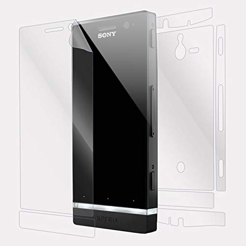 Snooky Full Body Front and Back Full 360 Protection TPU Soft Film Screen Guard for Sony Xperia U