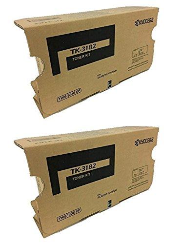 Kyocera TK-3182 (TK3182) Black Toner Cartridge 2-Pack for P3055dn