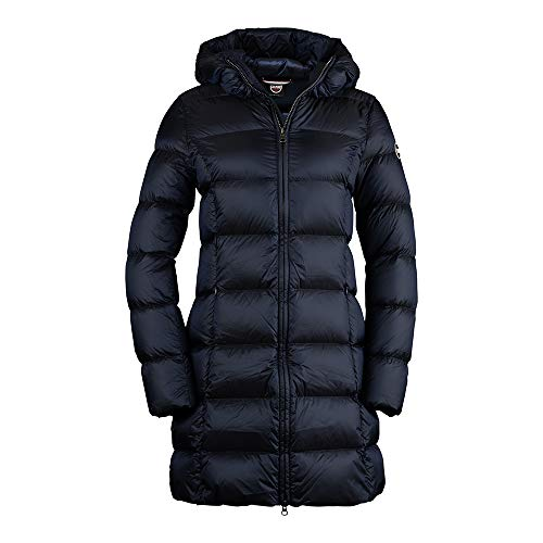 COLMAR Ladies Down JKT+Fur 2221 Place - Daunenmantel, Bekleidung_NR:38 (IT 44), Farbe:Navy Blue