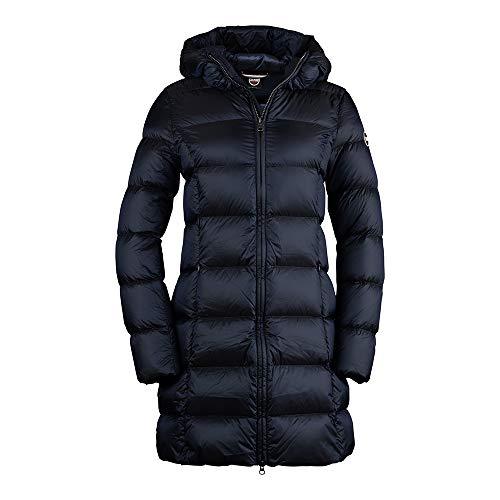 COLMAR Ladies Down JKT+Fur 2221 Place - Daunenmantel, Bekleidung_NR:38 (IT 44), Farbe:Navy Blue