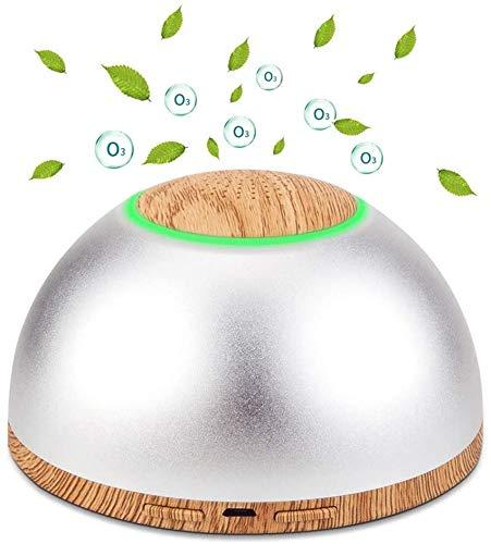 KTSWP Purificador de Aire portátil, Mini generador de ozono Recargable por USB, Eliminador de olores Desodorizador Máquina de ozono (O3) para Viajes, Exteriores, Habitaciones