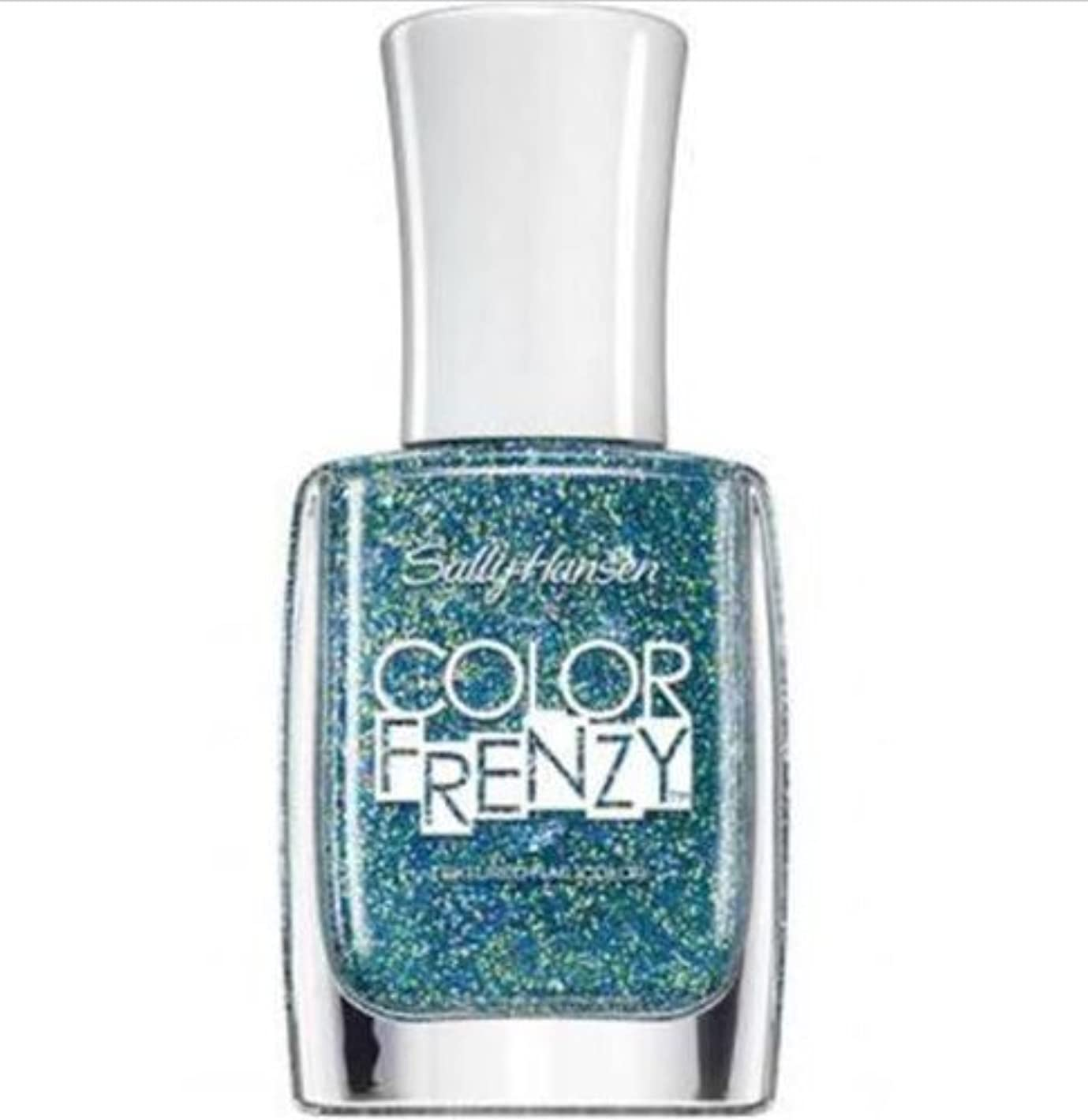 運命的な物理学者引用SALLY HANSEN Color Frenzy Textured Nail Color - Sea Salt (並行輸入品)