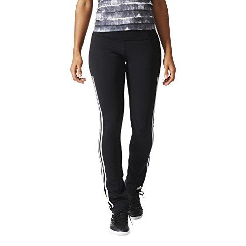 adidas Damen Hose WO 3S Pants Skin Trainingshose, Black/White, XS