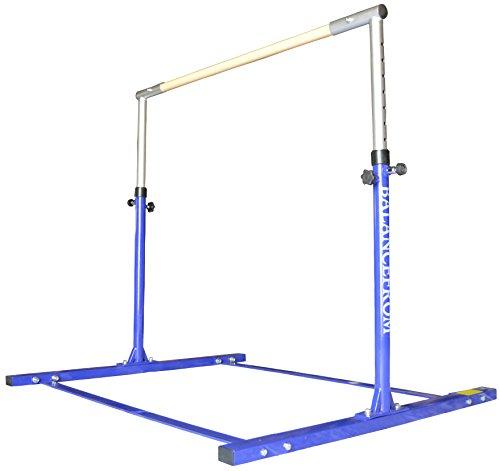 BalanceFrom Gymnastics Expandable Adjustable Training Bar (Blue)