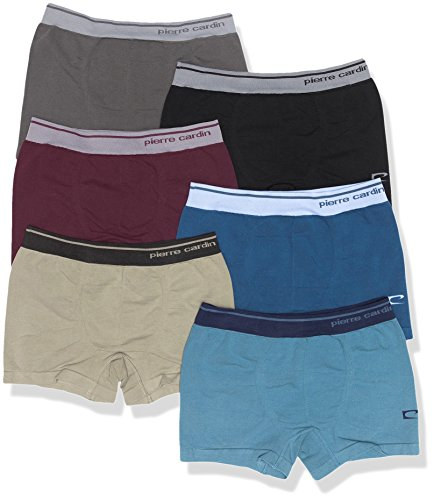 Pierre Cardin 378, Bóxer Para Hombre, Multicolor 2, Medium, Pack de 6