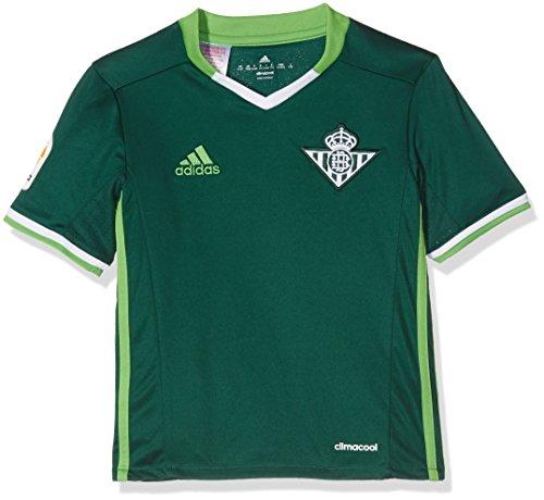 adidas 2ª Equipación Betis FC Camiseta, Hombre, Verde Oscuro, L