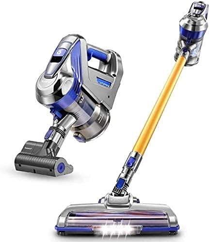 Chilequano Removedor de ácaros sin Cable de Mano Potente para Uso doméstico, Limpiador inalámbrico de Limpiador de Vapor, Limpiador de aspiradora Vertical para el hogar