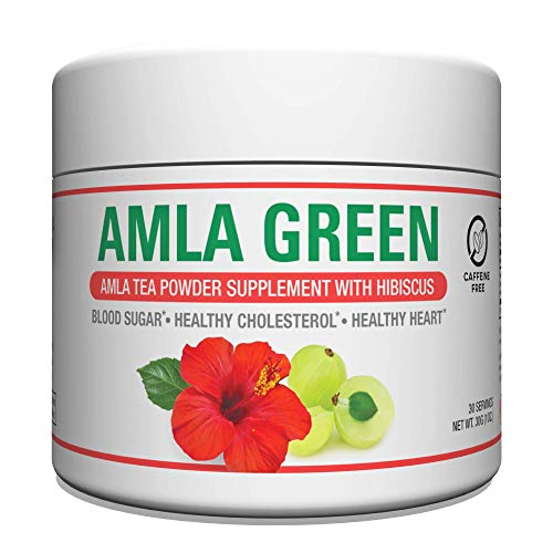 Organic AMLA GREEN Tea Powder – G…
