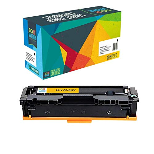 Do it Wiser Compatible Toner Cartridge for HP 201X HP CF400X CF403X CF402X CF401X for HP Color Laserjet Pro MFP M277dw M252dw MFP M277n M252n - High Yield 5 Pack Photo #7