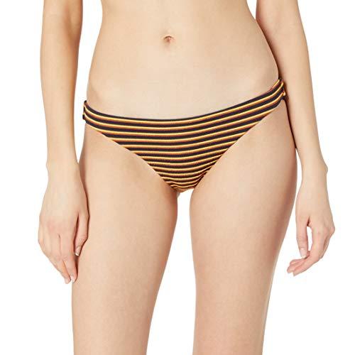 RVCA Bas de bikini à rayures pour femme - Bleu - Taille M