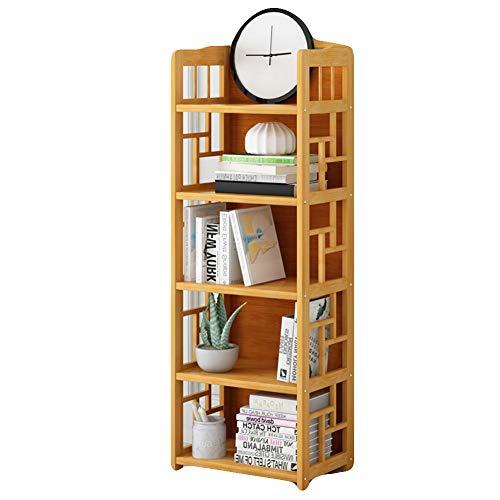 KELE Multifunctionele Bamboe Boekenplank, Boek Planken Eenvoudige Boekenkast Ruimte Opslaan Terug Baffle Stuur Handschoenen Verdikte Opslag Organizer Voor Thuis Of Kantoor