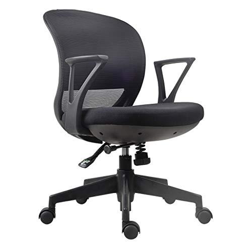 Sedia da ufficio Sedia del calcolatore della sedia confortevole casa Student Learning Scrittura Scrivania Sedia Chair Torna Studio sedia girevole semplice sedia dell'ufficio Sedia della scrivania