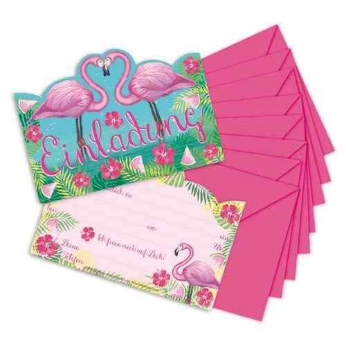 DYB68930 Accessoire de table 10 invitations Anniversaire D/écoration de f/ête enveloppes DYNASTRIB
