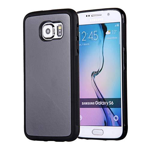 Zhouzl Cajas del teléfono para Samsung Galaxy S6 / G920 Anti-Gravedad Magia Nano-tecnología de succión Sticky Selfie Funda Protectora Cajas del teléfono (Color : Black)