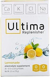 Ultima Replenisher, Lemonade, 20 Packets, 0.12 oz (3.5 g) Each