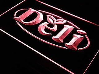 ADV PRO i077-r Open Deli Cafe Restaurant Logos Neon Light Signs