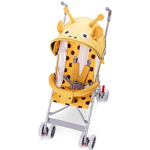 WYX-Stroller Kinderwagen Neue Super Leichte Tragbare Kinderwagen Sommer Kann Sitzen Halben Liegen Regenschirm Auto Einfache Kinderwagen Kinderwagen Rollstuhl,b
