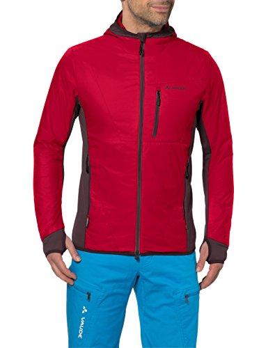 VAUDE Herren Jacke Sesvenna Jacket, indian red/raisin, XXL, 04275