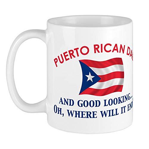 CafePress Good Looking Puerto Rican Dad Mug Unique Coffee Mug, Coffee Cup